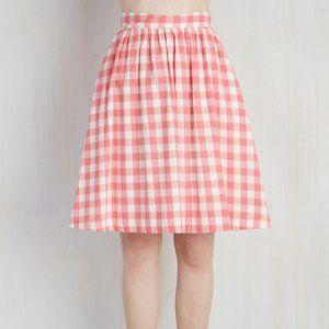 Modcloth Garden Gallery Skirt